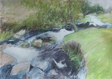 Burbage Brook Drawing 4
